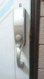 玄関の鍵開け 府中